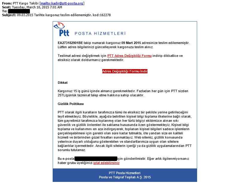 PTT Fatura